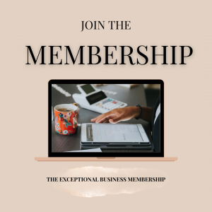 THE EXCEPTIONAL BUSINESS MEMBERSHIP (7)